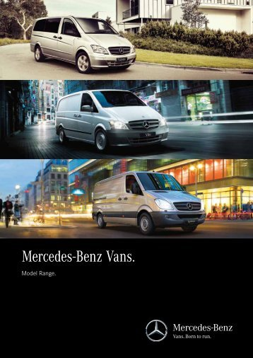 2013 Product Range Brochure (PDF) - Mercedes-Benz