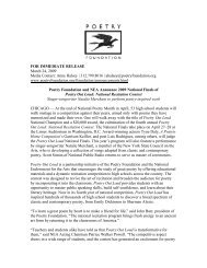 FOR IMMEDIATE RELEASE March 24, 2009 Media Contact: Anne ...