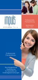 Download: Flyer - impuls Fortbildung