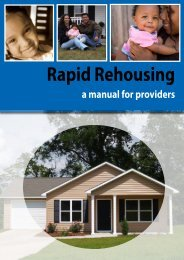 Rapid Rehousing - National Coalition for the Homeless