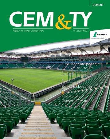 CEM&TY; nr 1(19)/2012 - Lafarge