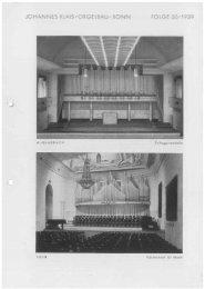 Folge 50 / 1939 - Orgelbau Klais Bonn