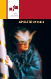 Spielzeitheft Theater Nordhausen 2009/2010