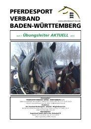 Übungsleiter Aktuell 01/2010 - Reiterring Badische Pfalz eV