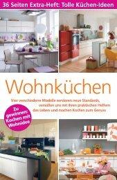 36 Seiten Extra-Heft: Tolle Küchen-Ideen - Kesseböhmer