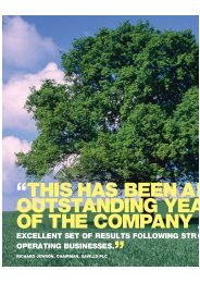 this has been an outstanding yea of the company a - Savills
