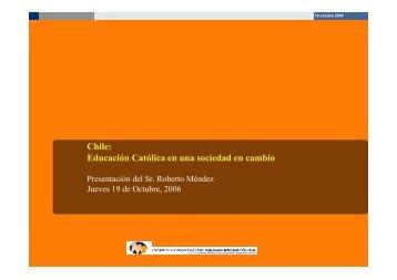 Chile: Educación Católica en una sociedad en cambio
