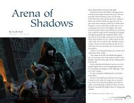 Arena of Shadows - Wizards of the Coast