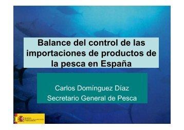Balance del control de las importaciones de productos de la pesca ...