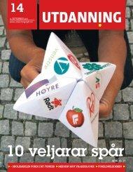 Utdanning nummer 14 2011 - Utdanningsnytt.no