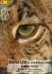 session ii - Programa conservación lince ibérico