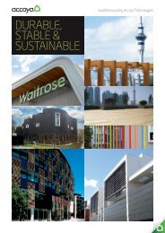 DURABLE, STABLE & SUSTAINABLE - DieMMe