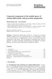 Connected components of the moduli spaces of Abelian differentials ...