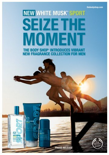WHITE MUSK® SPORT NEW - The Body Shop
