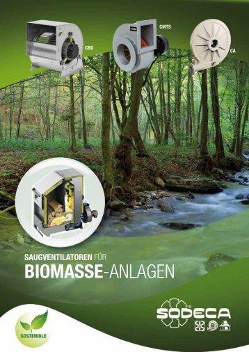 BIOMASSE-ANLAGEN - Sodeca