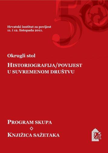 Program skupa i knjižica sažetaka - Culturenet