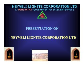 neyveli lignite corporation ltd neyveli lignite corporation ltd ...