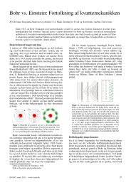 Bohr vs. Einstein: Fortolkning af kvantemekanikken