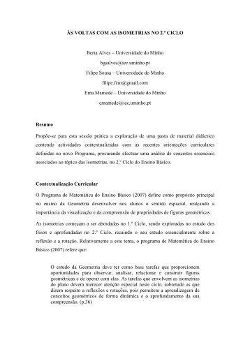 Berta Alves - Associação de Professores de Matemática