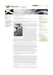 Aktuelle Analysen und Trends zur ... - Plath EFT GmbH