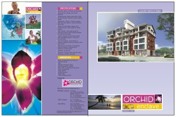 Download Brochure Pdf - Orchid Projects, Orchid Enclave. property ...