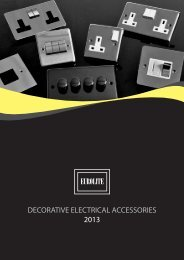 Eurolite Catalogue 2013 - Architectural Hardware Direct