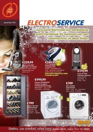 Elektro, uw comfort, onze zorg