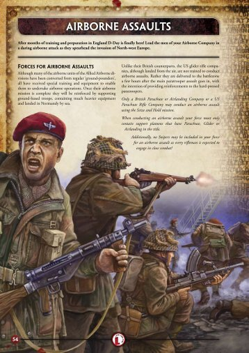 AIRBORNE ASSAULTS - Flames of War
