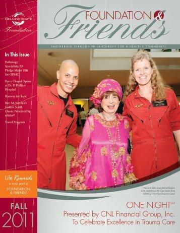 Fall 2011 - Orlando Health
