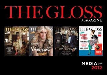 MEDIA pack 2012 - The Gloss