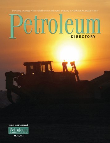 PN Directory July 2008 - for Petroleum News