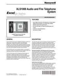 74-2079 -XLS1000 Audio and Fire Telephone System