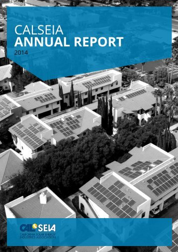 2014 annual report calseia