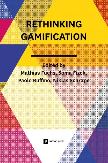 9783957960016rethinkinggamification