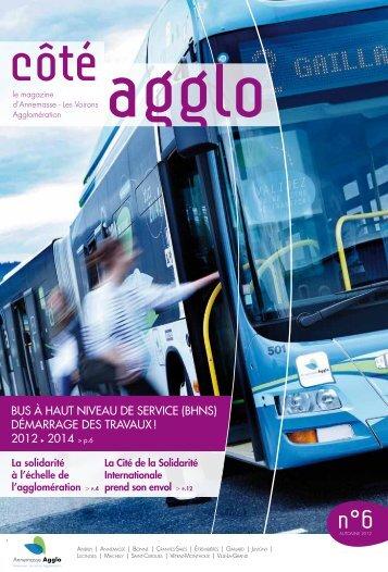 Bus à Haut Niveau de service (BHNs ... - Annemasse agglo