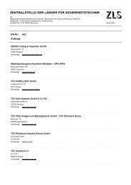 Anschriftenliste EK-Mitglieder - ZLS