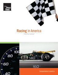 Racing in America - The Henry Ford