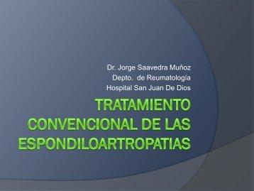 Tratamiento Convencional de las Espondiloartropatías
