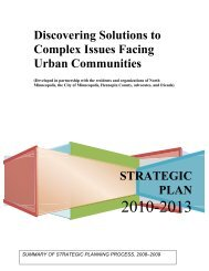 Discovering Solutions to Complex Issues Facing Urban Communities
