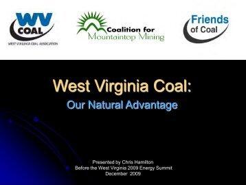 West Virginia Coal - West Virginia Department of Commerce