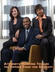 Attorneys Working Toward the Tipping Point for Diversity - The Bar ...