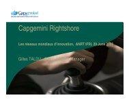 Capgemini Rightshore - ANRT