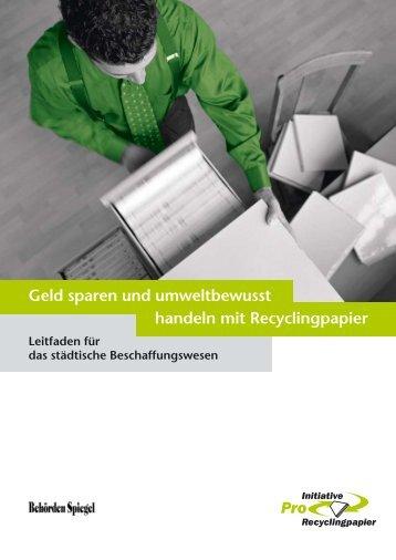 Leitfaden - Initiative Pro Recyclingpapier