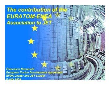 50th Frascati 2010 - ENEA - Fusione