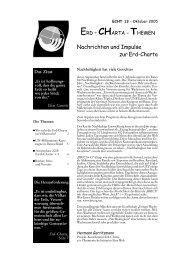ECHT 13 - Erd-Charta