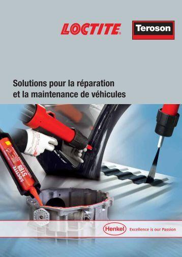 Solutions pour la réparation et la maintenance de véhicules