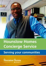 Hounslow Homes Concierge Service
