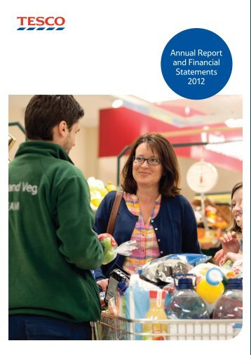 Tesco plc Annual Report and Financial Statements 2012