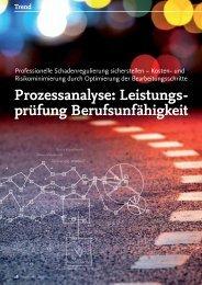 Prozessanalyse: Leistungs- prüfung ... - solutionproviders