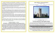 Service Leaflet (pdf) - Philosophy and Religion